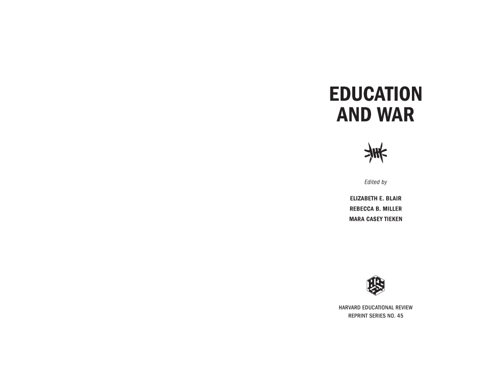 thesis about college education