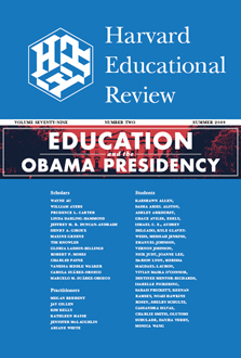 Education and the Obama Presidency