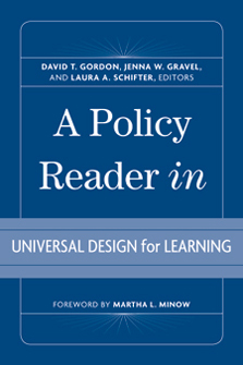 A Policy Reader in Universal Design for Learning