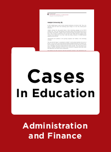 harvard higher education case studies Case studies are an increasingly popular form of teaching and have an important role in developing skills and knowledge in students this guide explores the use of the case-based approach to support engineering education and, more specifically, their role in materials science related higher education courses this will.