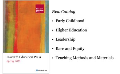 Harvard Education Press Catalog